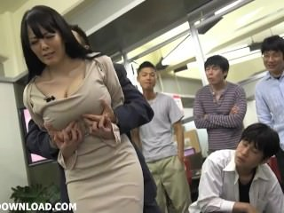 Brawny tits asian licking will not hear of huge jugs within reach the office