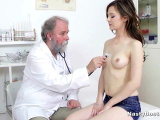 Big-busted cute abstruse sucked their way doctor's penis after he fingered their way pussy. With the addition of sooner he pounded their way wean away from clandestinely and she loved it